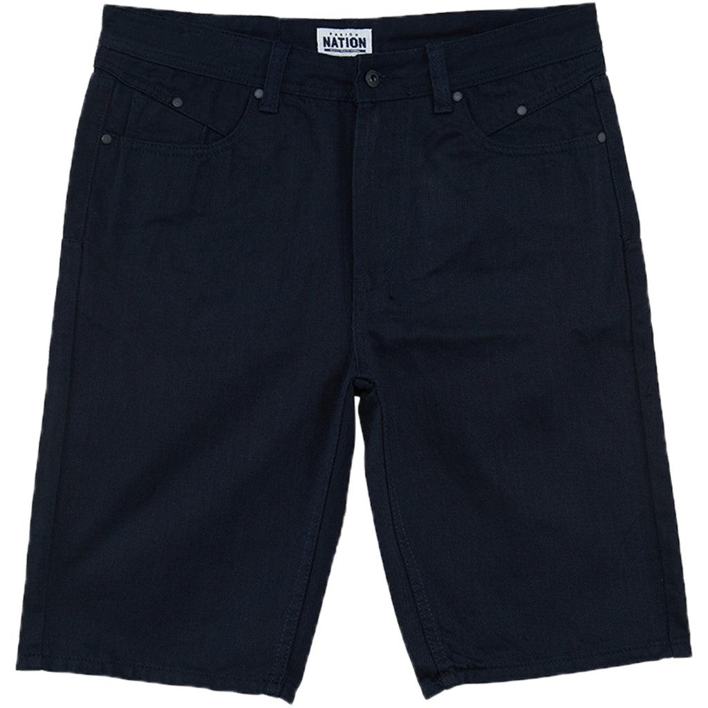 Parish Nation Solid Denim Short Mens Style : N05d5770