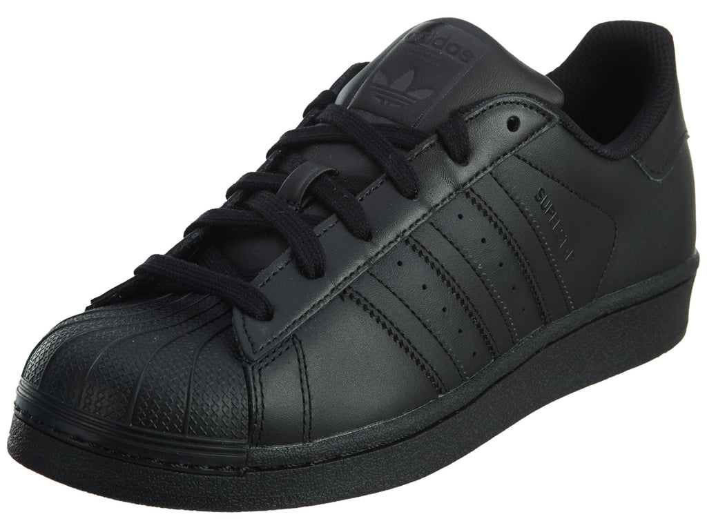Adidas Superstar Foundation J Boy's Shoes Core Black/Black Boys / Girls Style :B25724