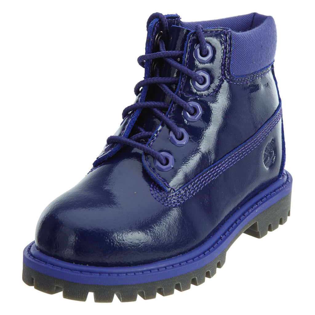 Timberland 6in Premium Patent Boot Toddlers Style : 3381a