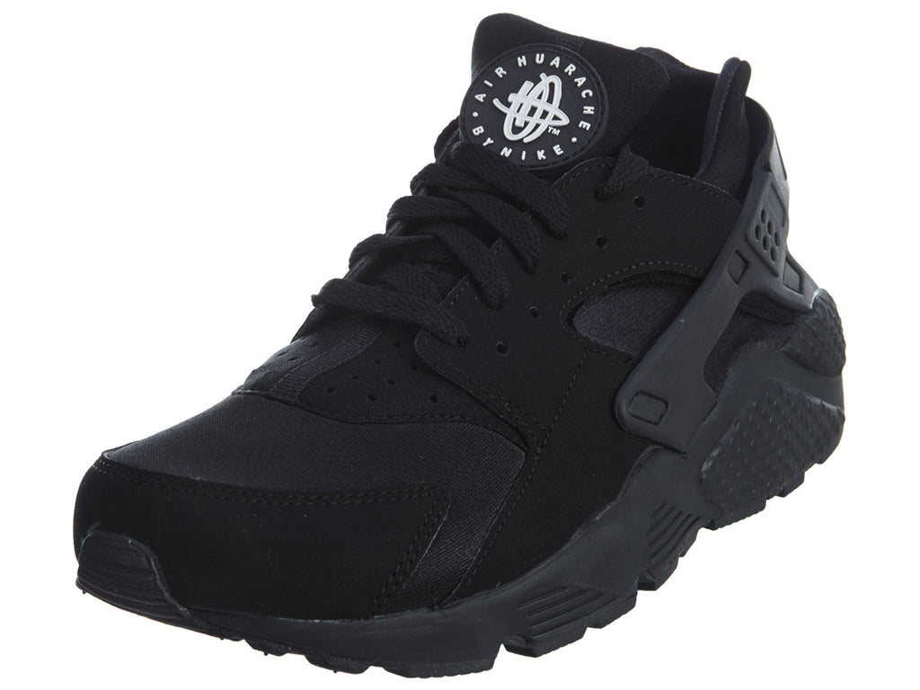 "Nike Air Huarache ""All Black"" Mens Style :318429"