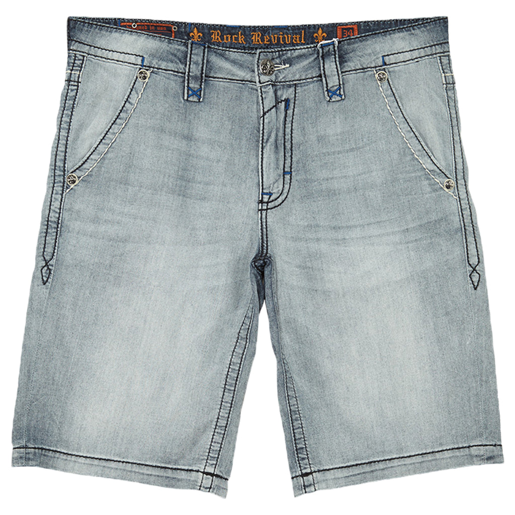 Rock Revival Short Mens Style : RSM839-5