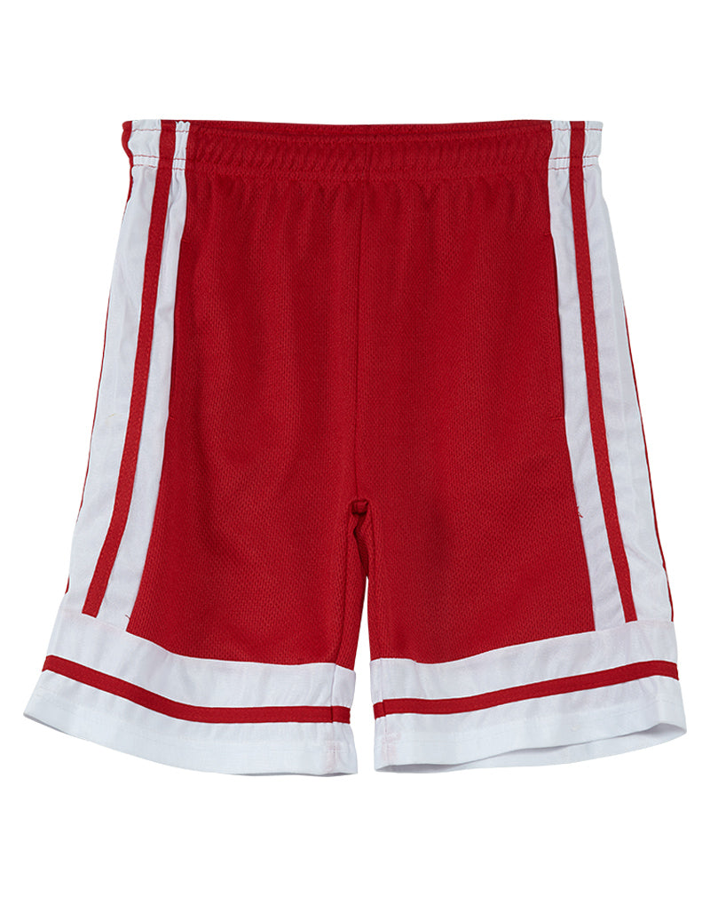 c12cf1b73916 Game Time Athletic Meshed And Striped Shorts Big Kids Style   RN   115851