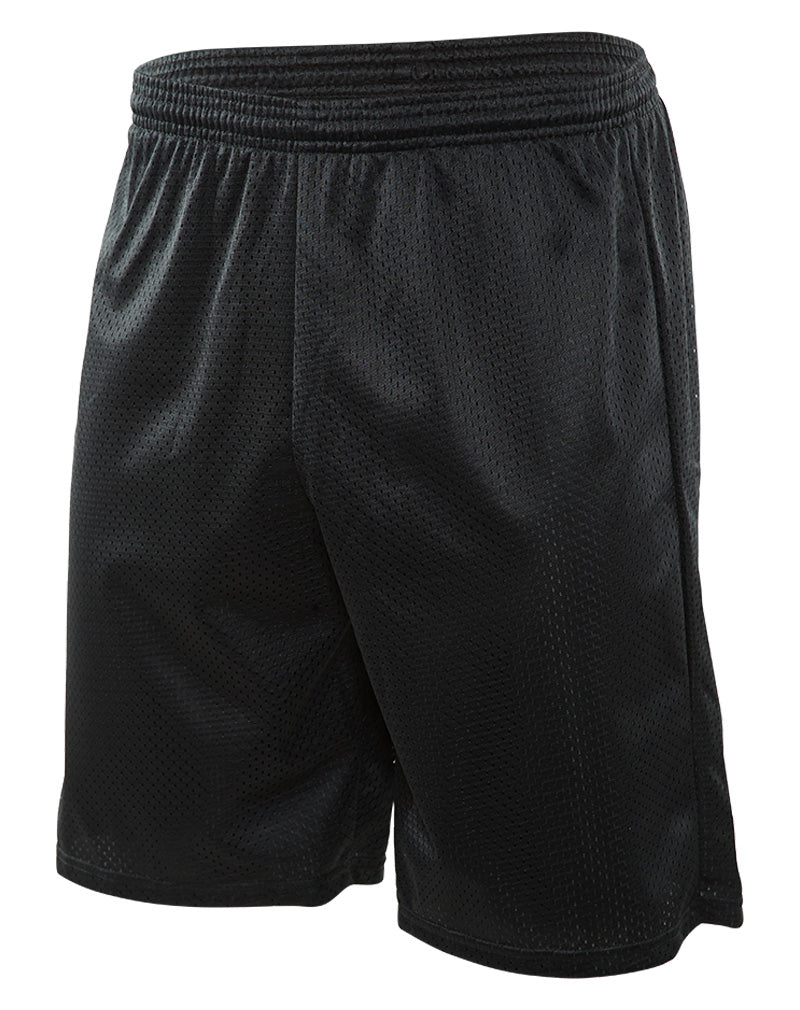 "A4 9"" Lined Tricot Meshed Shorts Mens Style : N5296"
