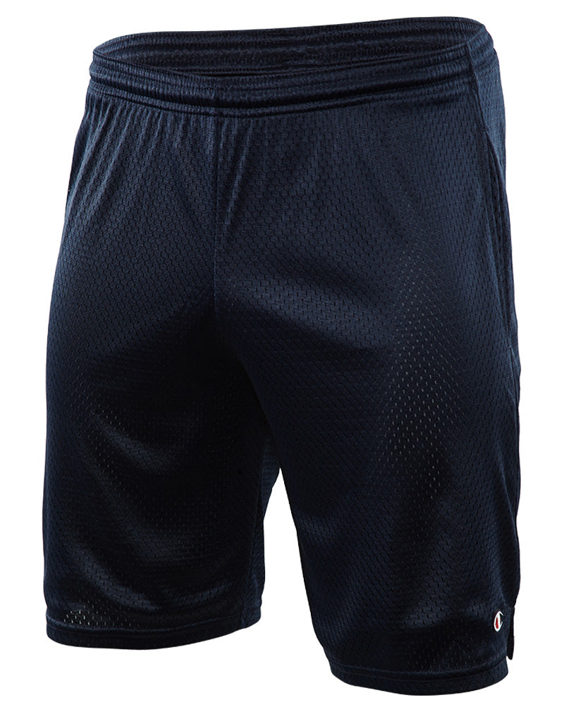 "Champion 9"" Inseam Mesh Lined Practice Shorts With Pockets Mens Style : S162"