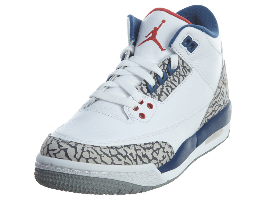 "Air Jordan 3 Retro Og Bg (gs) ""true Blue 2016 Release"" - Air Jordan Boys / Girls Style :854261"