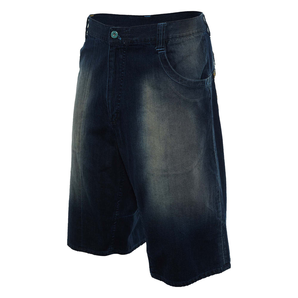 Jordan Back Pocket Emroidered Denim Shorts Mens Style : 128927