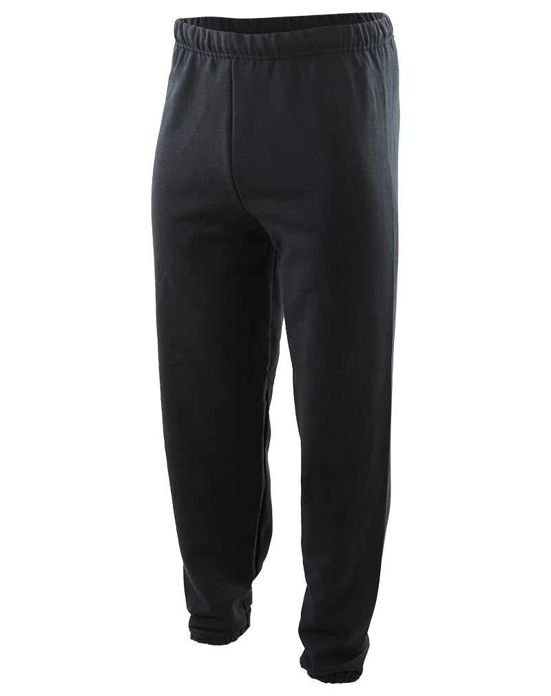 Jerzees Adult Nublend Poly/cotton 50/50 Elastic Bottom No Pocket Sweatpants Mens Style : 973MR