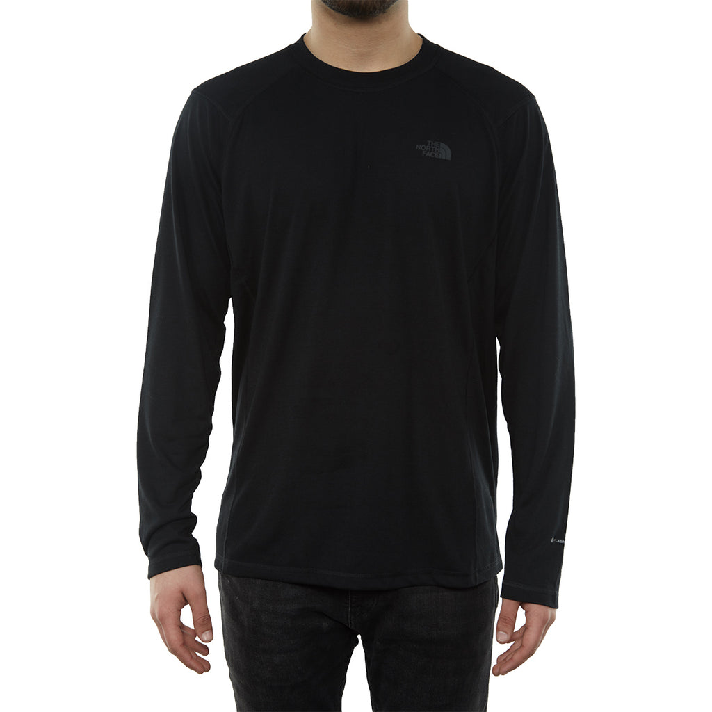 North Face Flashdry Crew  Long-sleeve Mens Style : Cqx7