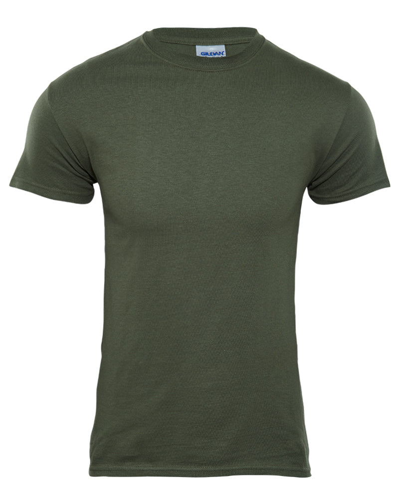 Gildan Ultra Cotton Crewneck T-Shirt Mens Style : 2000