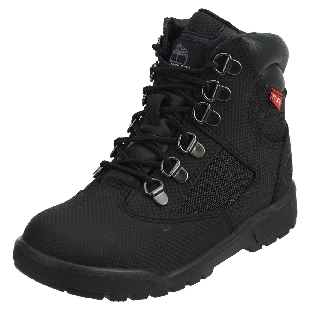 "Timberland 6"" Field Boots Helcor Little Kids Style : Tb0a1ata"