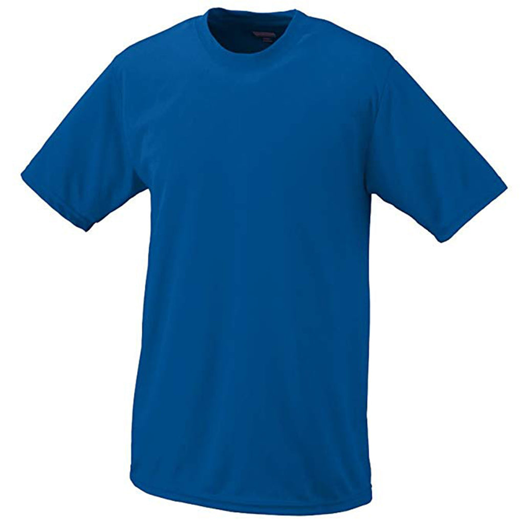 Augustia  Sportswear Moisture Wicking Short Sleeve Crewneck T-shirt Mens Style : 790
