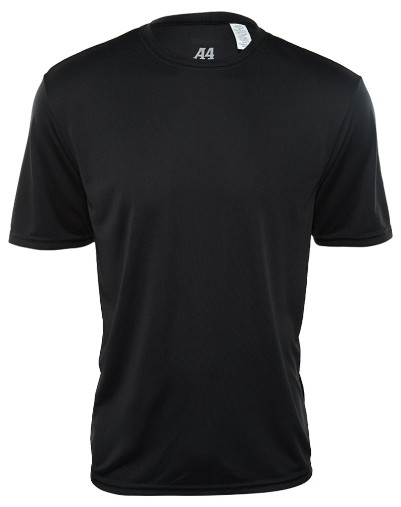 A4 Short Sleeve Cooling Performance Crewneck T-Shirt Mens Style : N3142