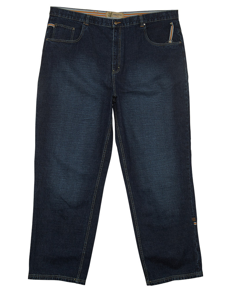 Varcity 5 Pocket Loose Fit Jeans Mens Style : VFJ150