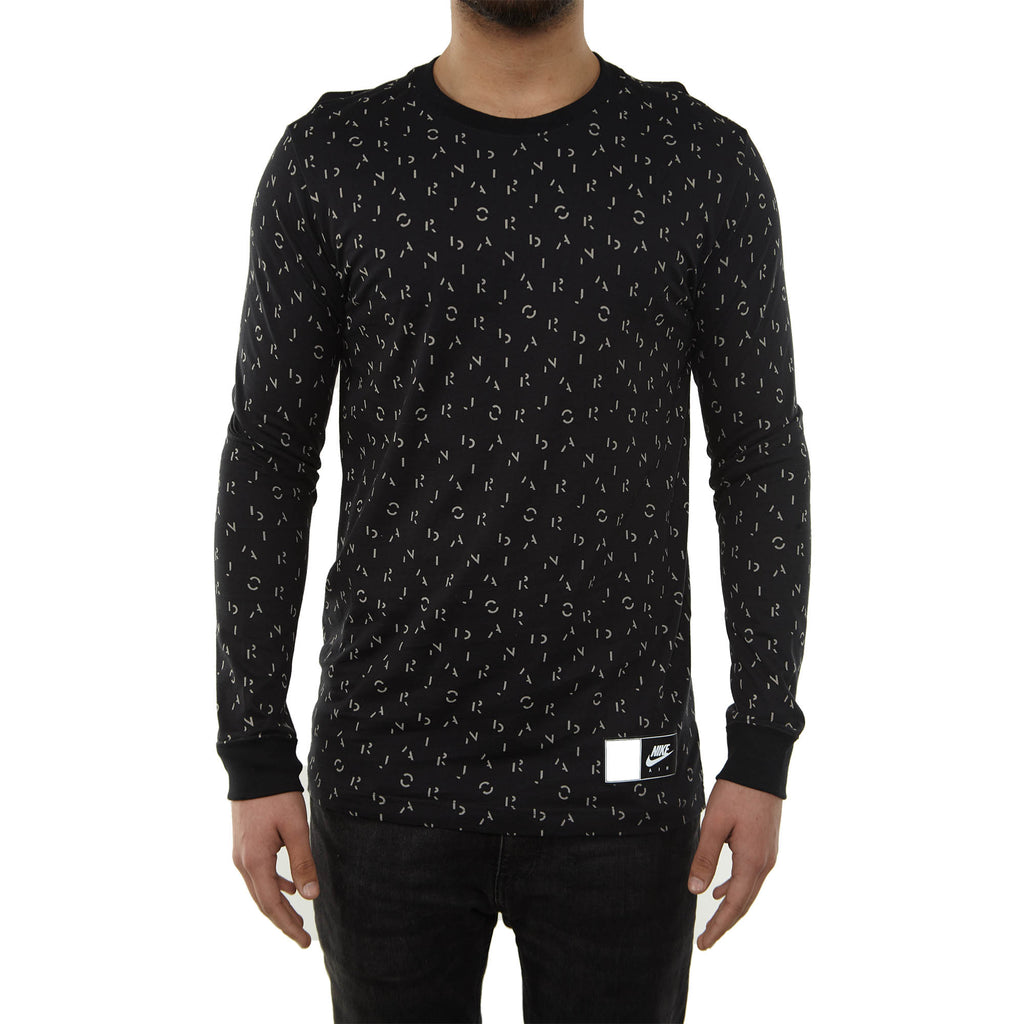 Jordan Retro 5 Long Sleeve T-shirt Mens Style : 801125