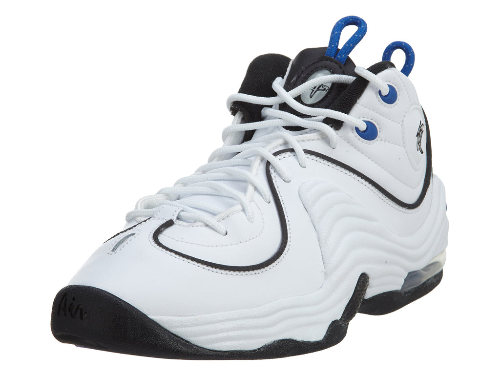 Nike Air Penny II (GS) Shoes White/Black/Royal Boys / Girls Style :820249