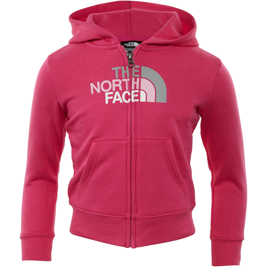 North Face Logowear Full Zip Hoodie Toddlers Style : A2u5l