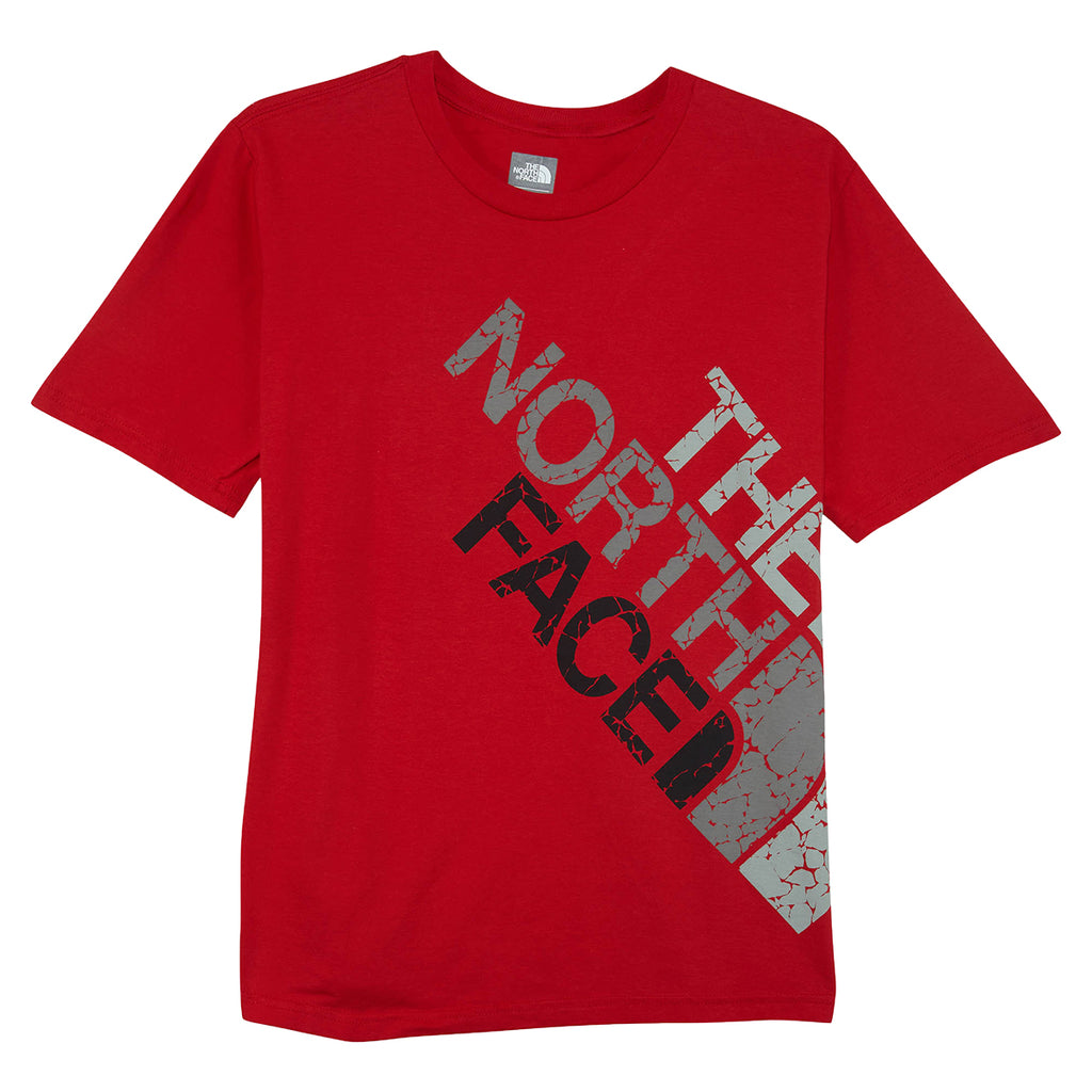 North Face The North Face Graphic Oversize Crackle Logo Big Kids Style : Cb8m