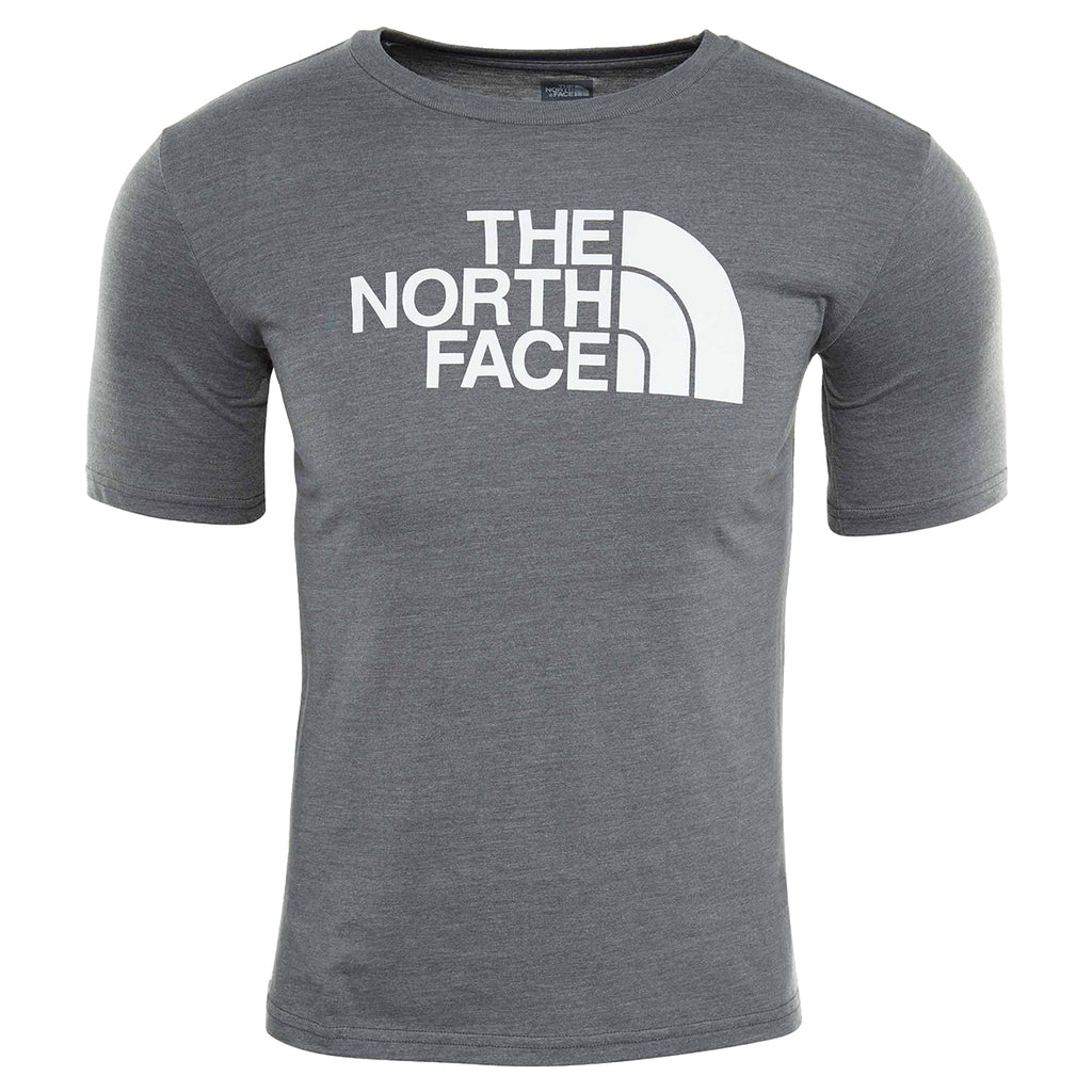 North Face S/s Half Dome Triblend Tee Big Kids Style : A3c9t