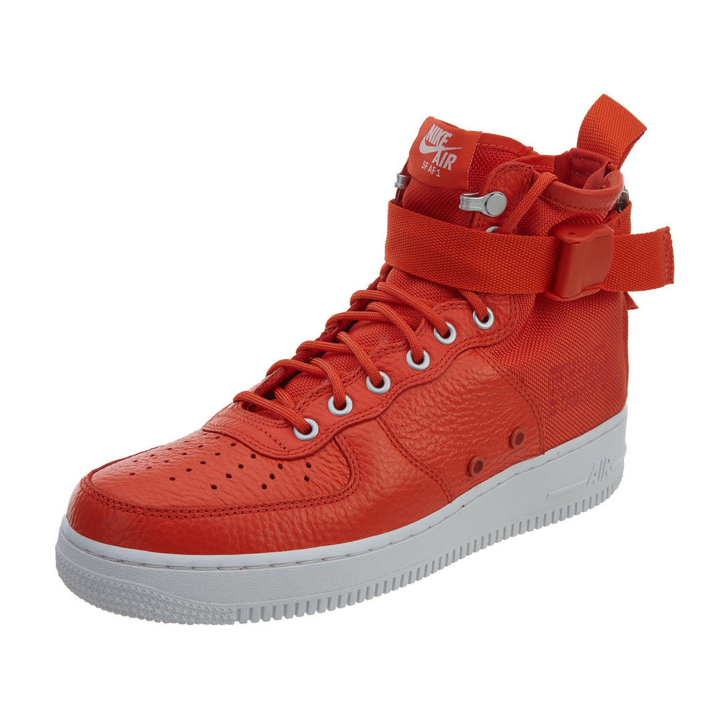 Nike SF AF1 Mid Basketball Shoes - Orange Mens Style :917753