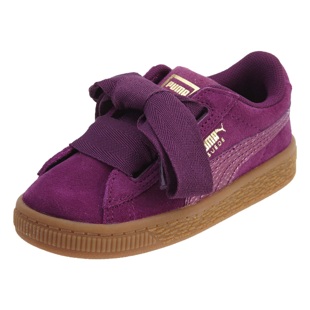 Puma Suede Heart Snake Shoe Infant Toddlers Style : 364920