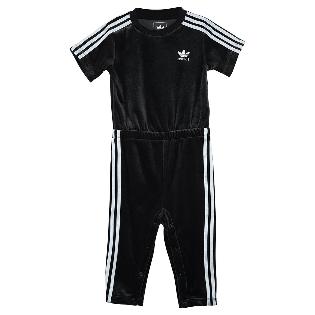 Adidas Infant Velour Jumpsuit Toddlers  Bq4446