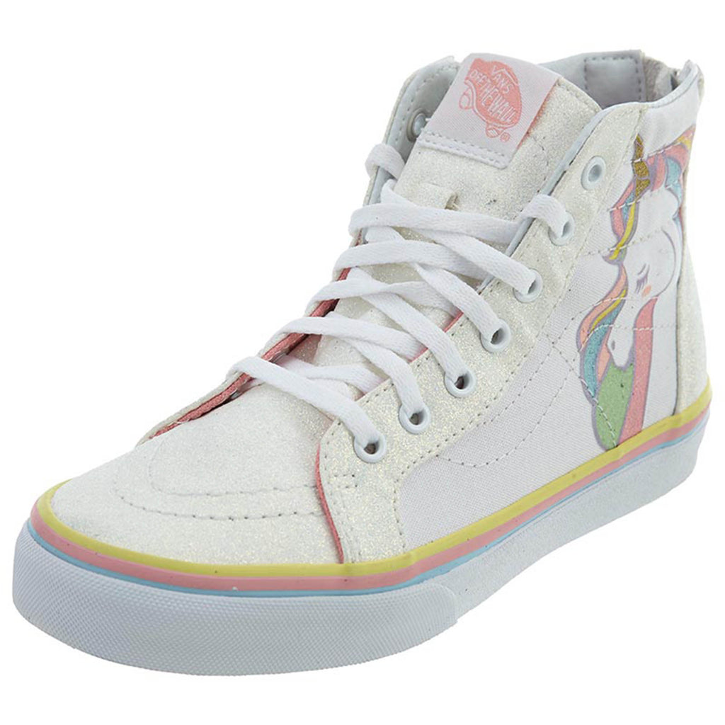 Vans Sk8‑hi Zip (Unicorn) School Shoes  Little Kids Style : Vn0a3276