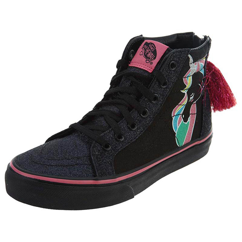 Vans Sk8-hi Zip (Unicorn) Shoes  Little Kids Style : Vn0a3276
