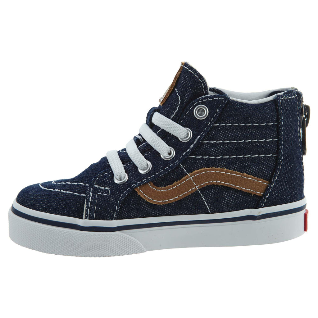 Vans Sk8‑hi Zip (Denim C&l) Toddlers Style : Vn0a32r3