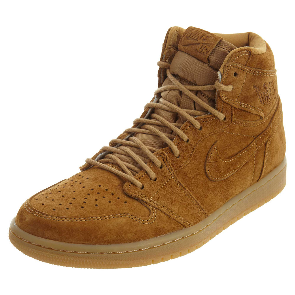 Nike Air Jordan 1 I High Wheat  Mens Style :555088
