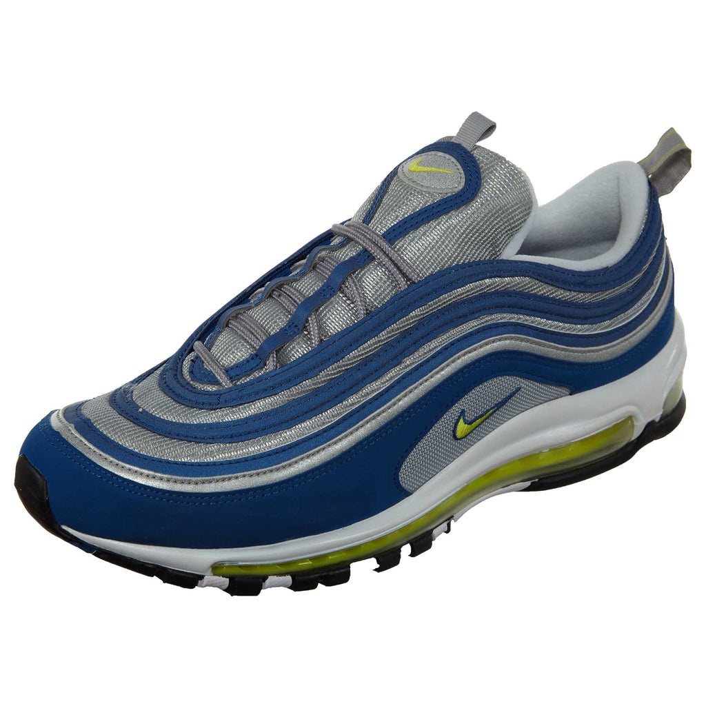 Nike Air Max 97 OG Atlantic Blue DS Neon Mens Style :921826