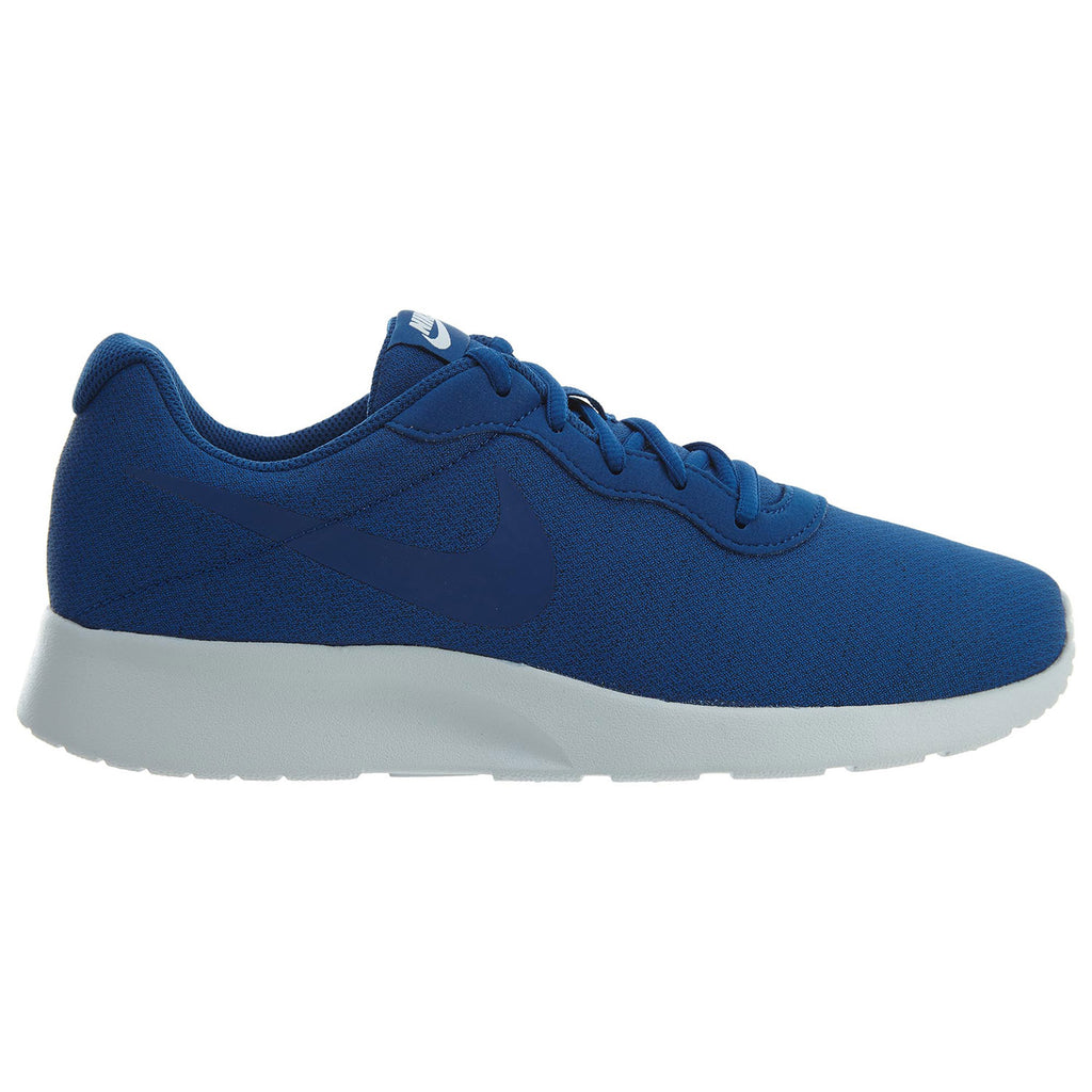 Nike Tanjun Gym Blue White Mesh Athletic Mens Style :812654