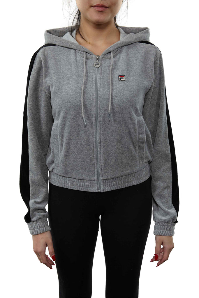 Fila Carly Velour Jacket Womens Style : Lw173d98