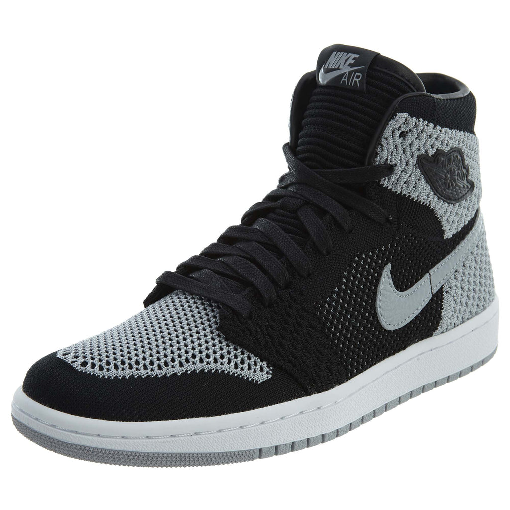 Nike Air Jordan 1 Retro High Flyknit BG Black/Wolf Boys / Girls Style :919702