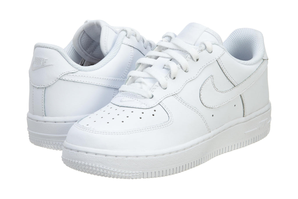 Nike force 1 (ps) white/white/white low top youth Boys / Girls Style :314193