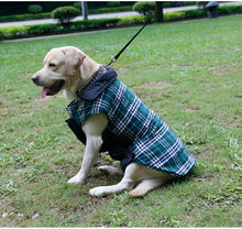 2017 Waterproof Reversible Dog Jacket Designer Warm Plaid Winter Dog Coats Pet Clothes Elastic Small to Large Dog Clothes Winter