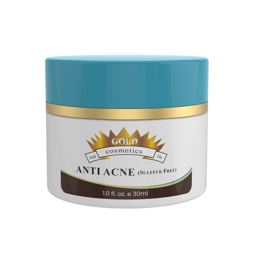 Anti Acne - Sulfur free - Gold Cosmetics & Skin Care