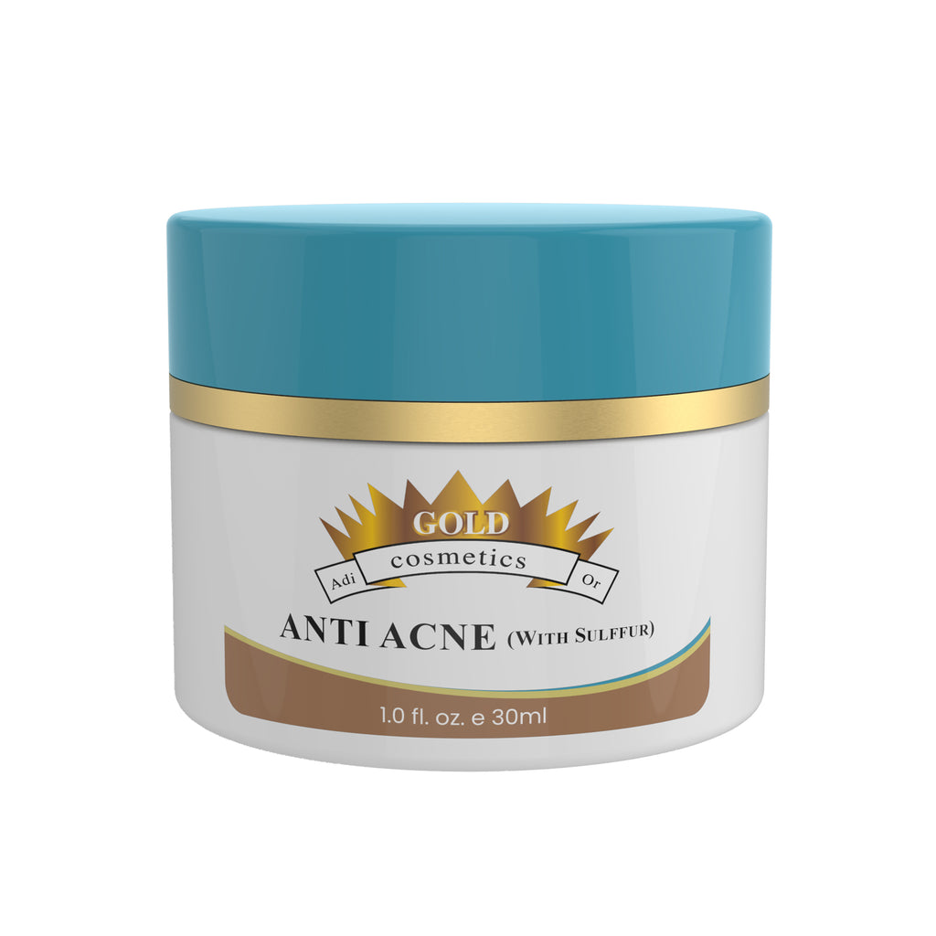 Anti Acne With Sulfur - Gold Cosmetics & Skin Care