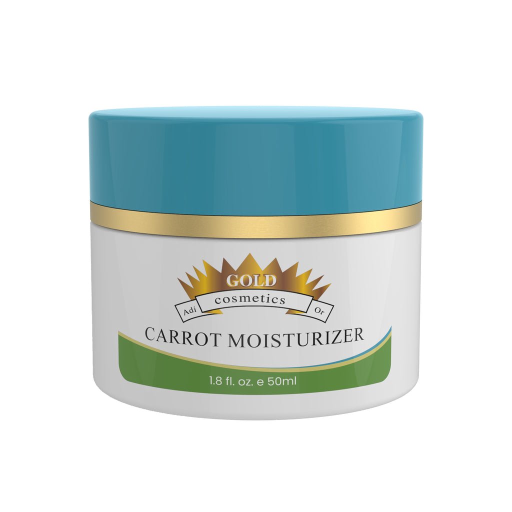 Carrot Moisturizer - Gold Cosmetics & Skin Care