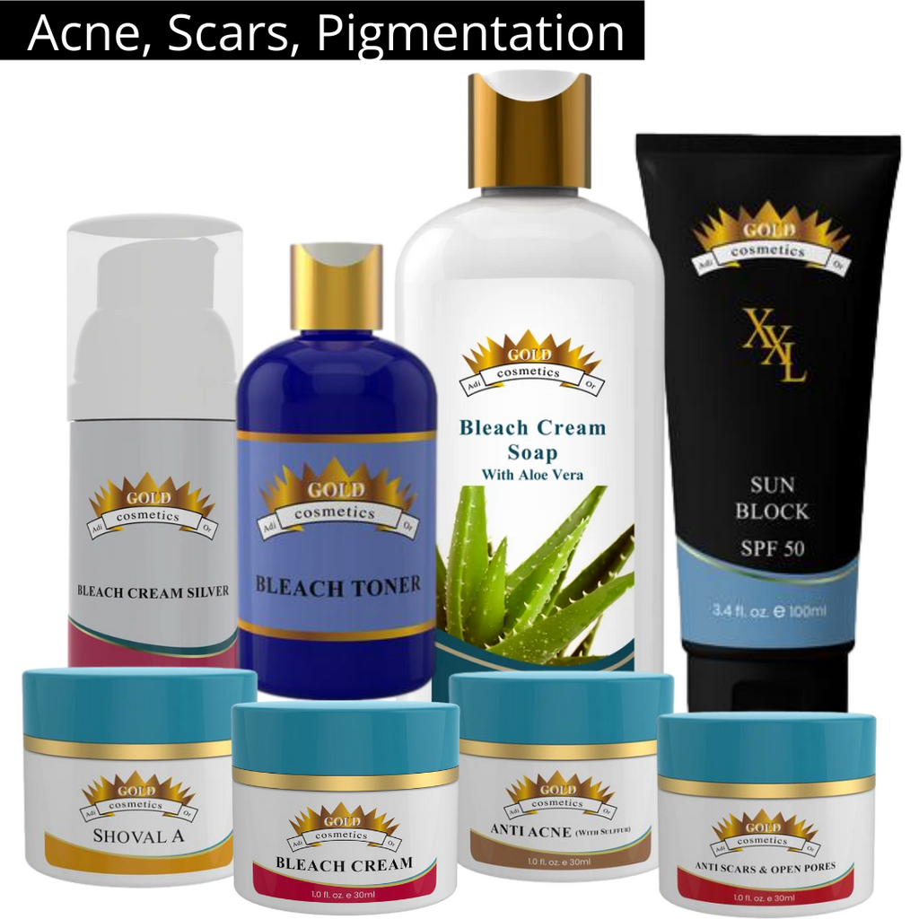Medium Scars Kit - Gold Cosmetics & Skin Care