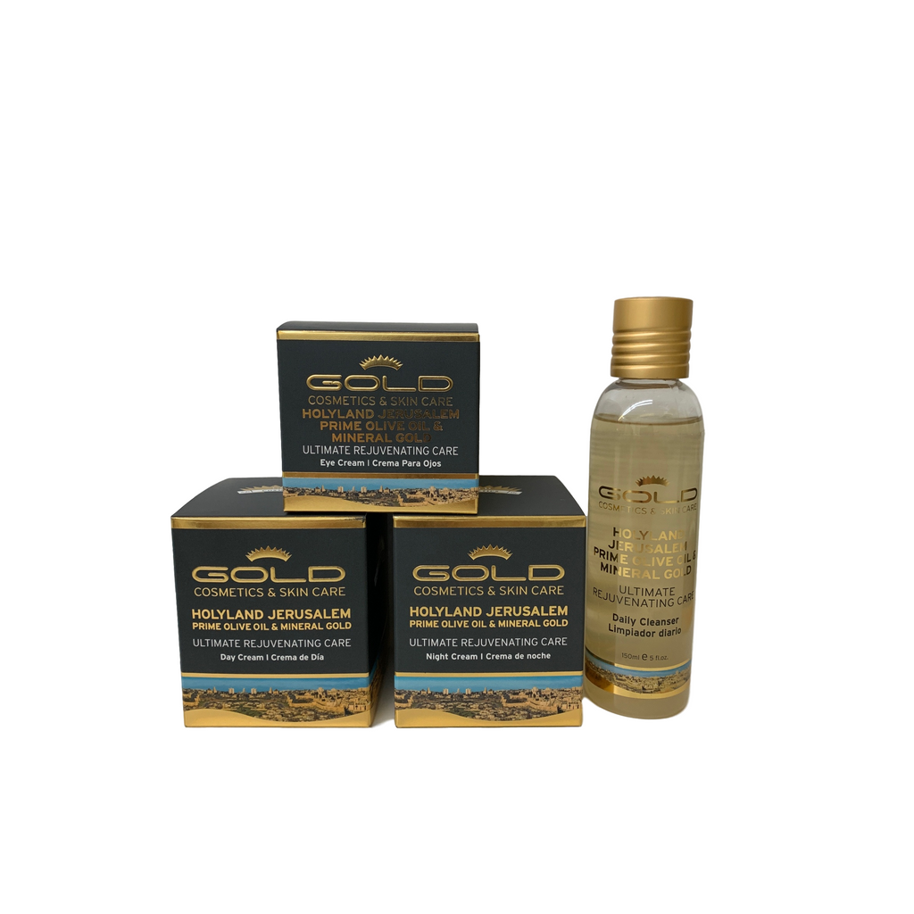 Gold Mineral Kits Series - Gold Cosmetics & Skin Care
