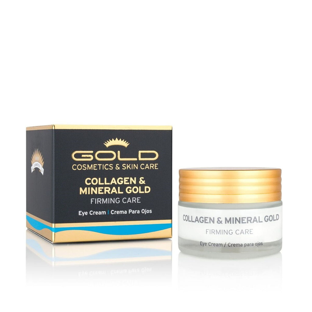 COLLAGEN & MINERAL GOLD EYE CREAM - Gold Cosmetics & Skin Care