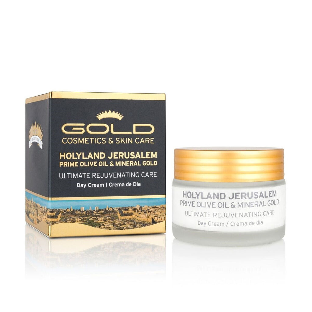 HOLYLAND JERUSALEM MINERAL GOLD DAY CREAM - Gold Cosmetics & Skin Care