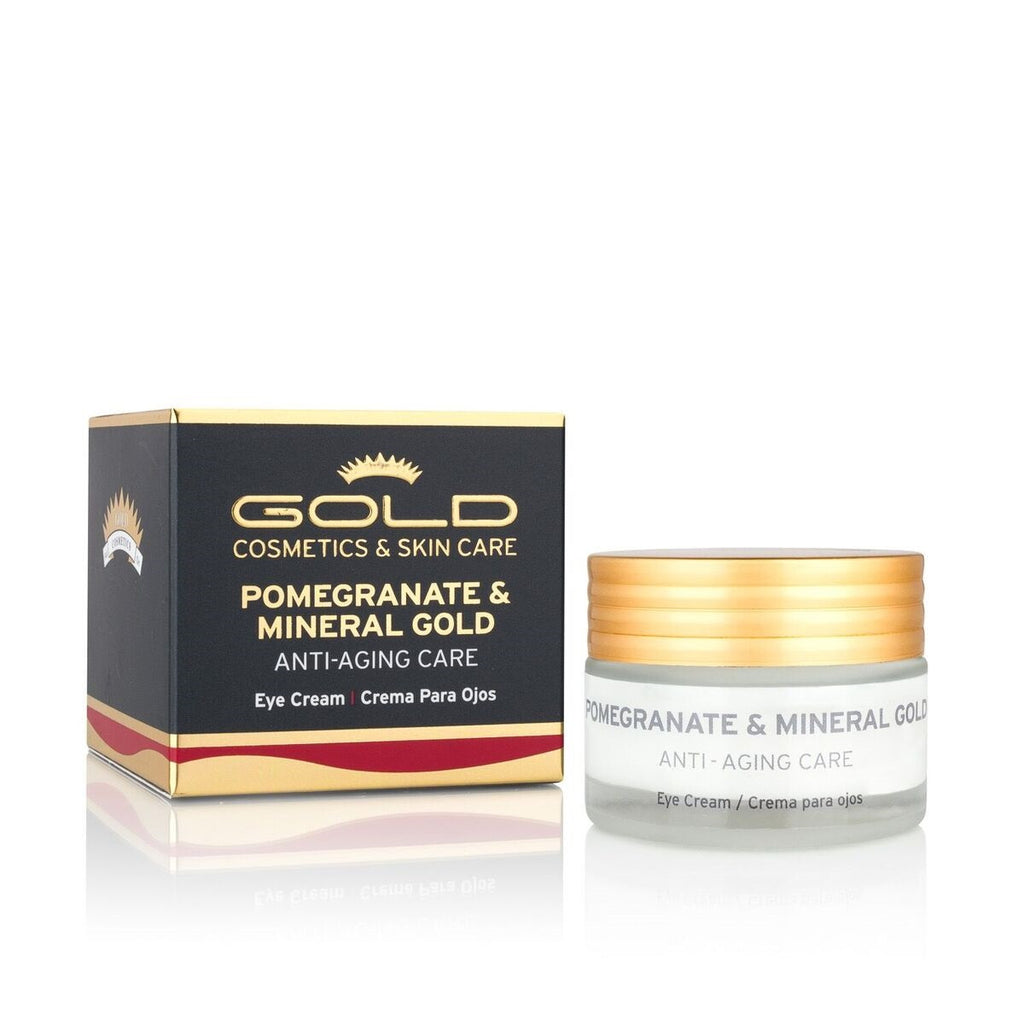 Pomegranate & Mineral Gold Day Eye Cream - Gold Cosmetics & Skin Care