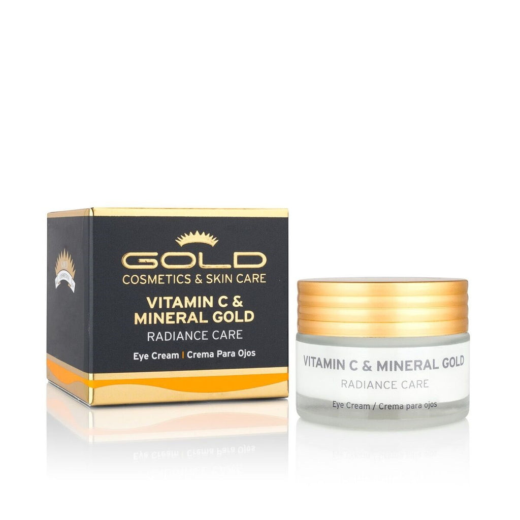 VITAMIN C & MINERAL GOLD EYE CREAM - Gold Cosmetics & Skin Care