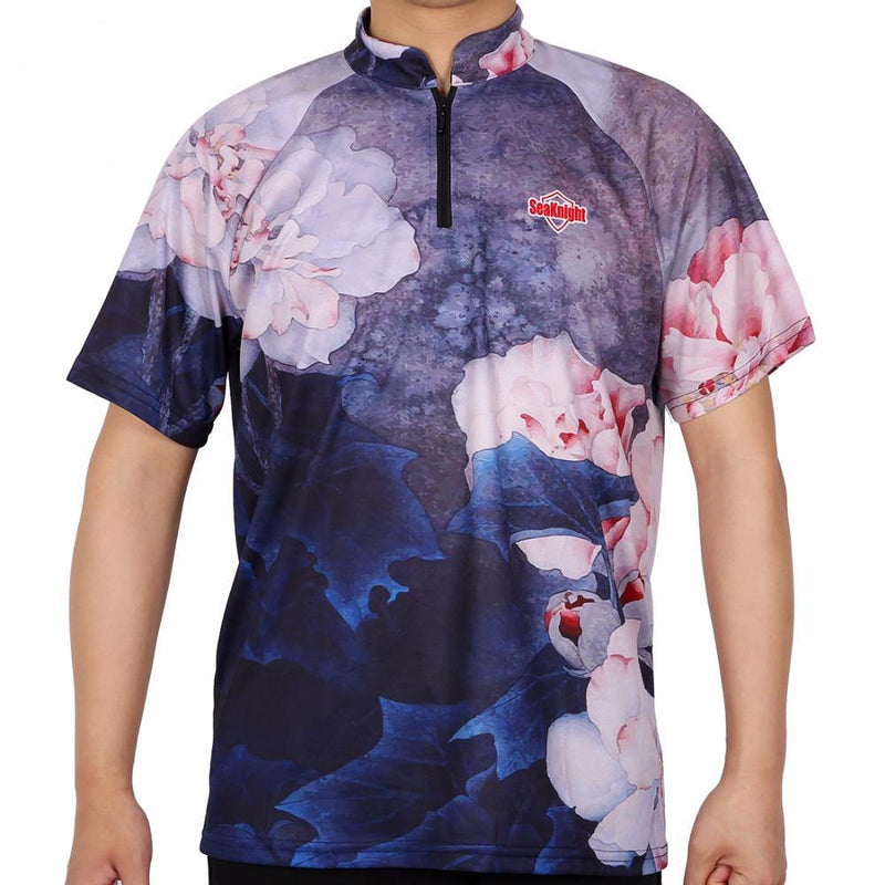 SeaKnight Floral Fishing T-Shirt