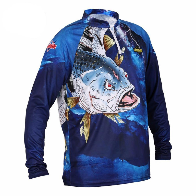 Long Sleeve Quick Dry Fishing Shirt