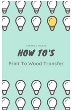 Printer To Image Transfer EBook