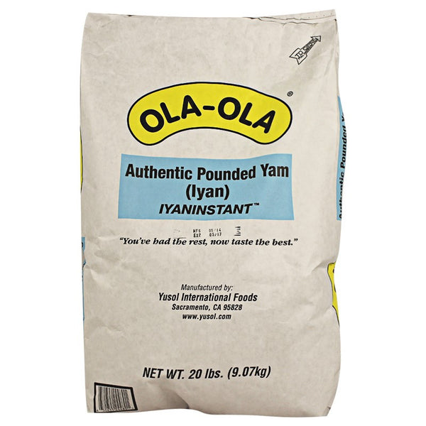 OLA OLA authentic pounded yam 20LB