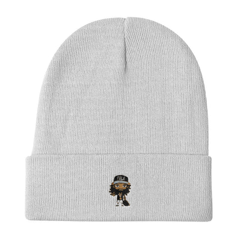 Yoson Graphic Knit Beanie