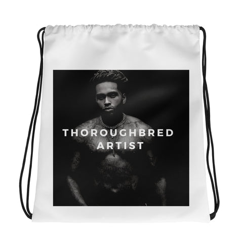 Thoroughbred Artist Drawstring bag